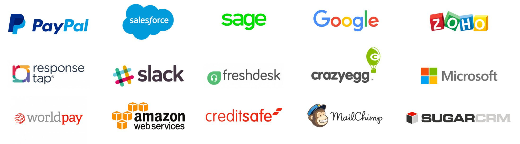 Some brands we work and integrate with